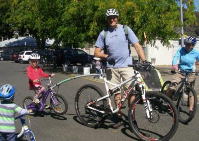 Hassell family cycleteering
