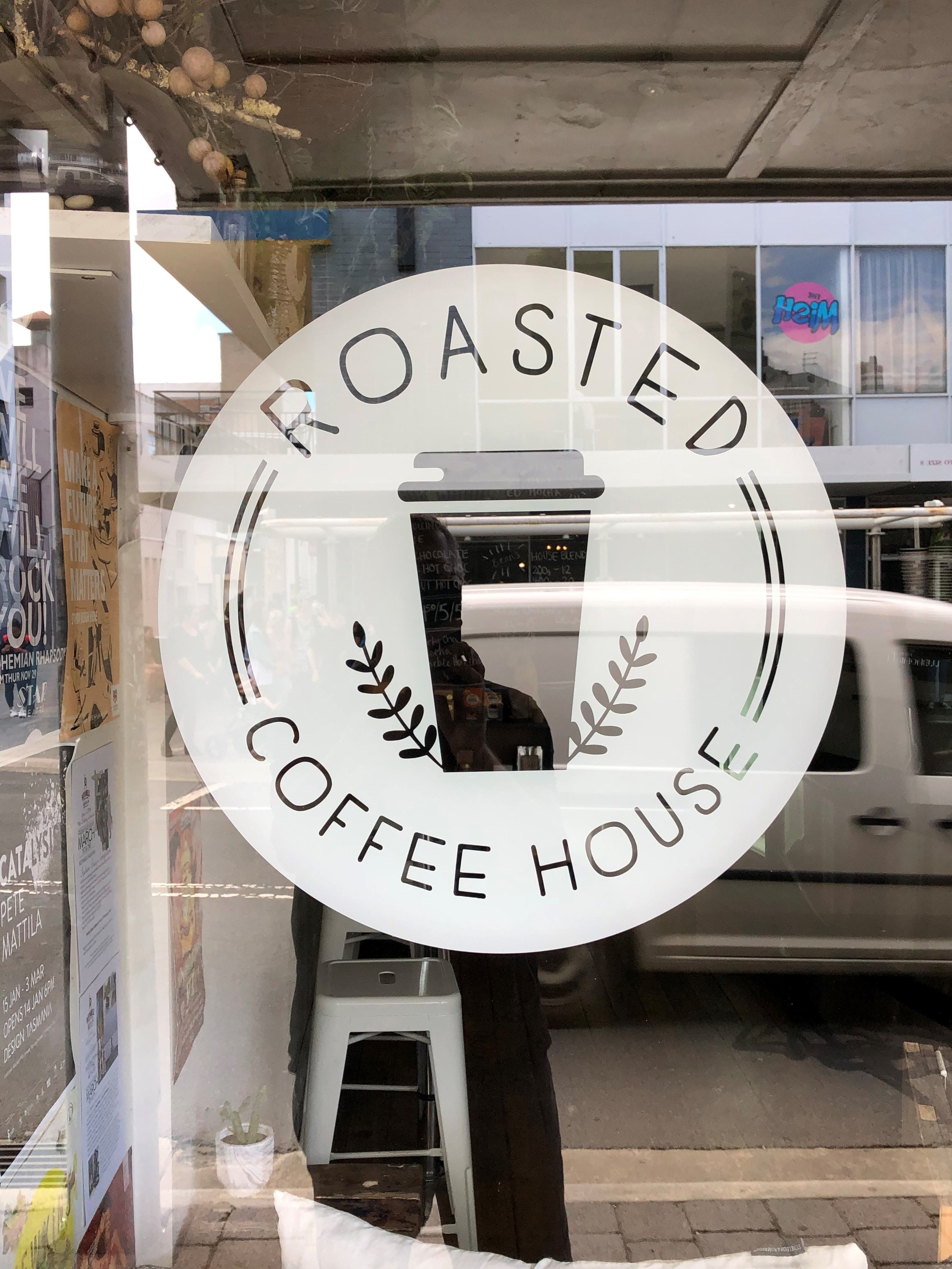 Roasted Coffee House, 99A St John St, Launceston